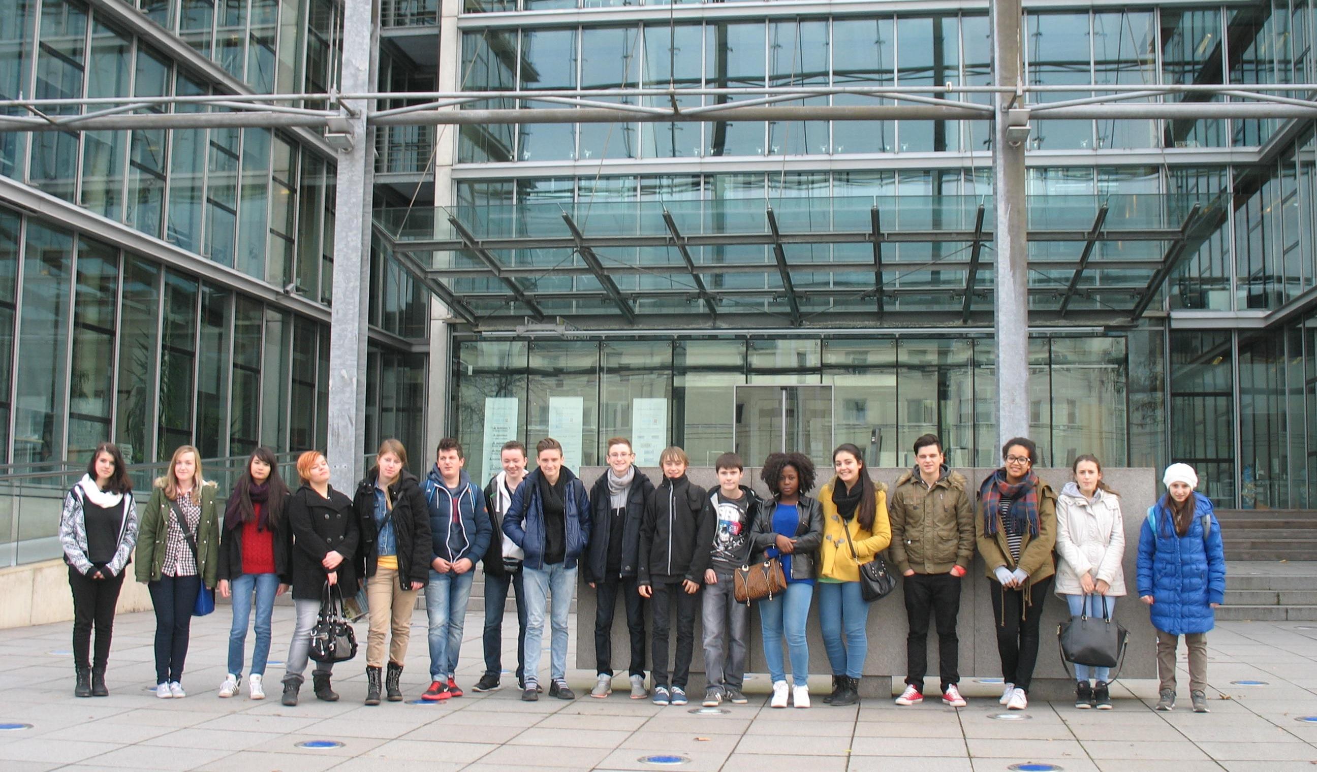 Foto Besuch DuMont-Verlag