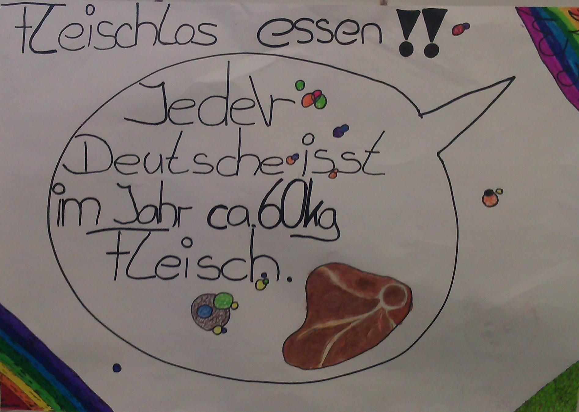 Fleischlos Plakat 1